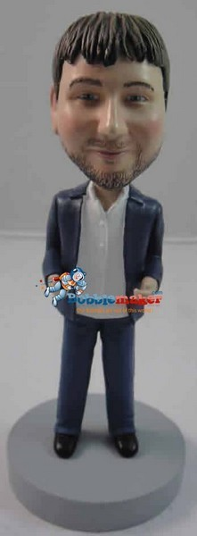 Custom Bobble Head | Night Club Man Bobblehead | Gift Ideas For Men