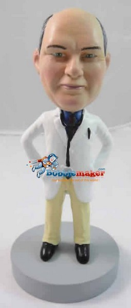 Custom Bobble Head | Male Doctor Bobblehead | Gift Ideas For Men