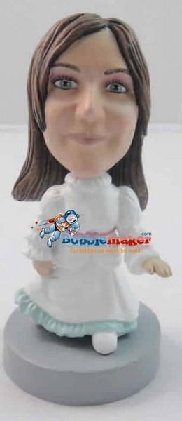 Old Time Dress bobblehead Doll