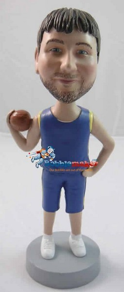 Basketball Player Man bobblehead Doll