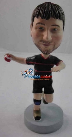 Handball Player bobblehead Doll