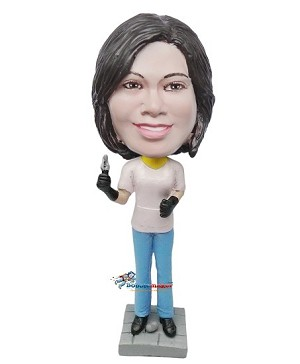 Female Doctor bobblehead Doll