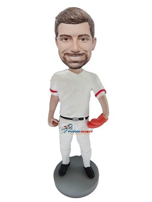 Custom Bobble Head | Baseball Pitcher Man Bobblehead | Gift Ideas For Men