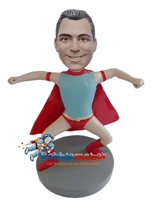 Funny Superman bobblehead Doll