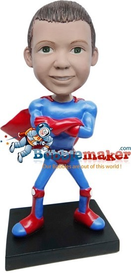 Custom Bobble Head | Superman Kid Bobblehead | Gift For Men