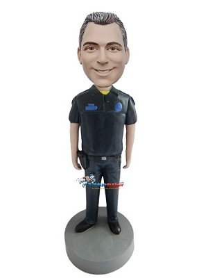Custom Bobble Head | Police Male Bobblehead | Gift Ideas For Men