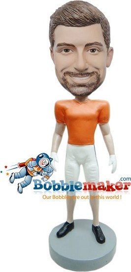 Man In Football Uniform bobblehead Doll