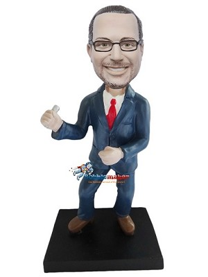 Custom Bobble Head | Swinging Businessman Bobblehead | Gift Ideas For Men