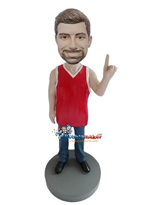 Custom Bobble Head | Ultimate Basketball Fan Bobblehead | Gift Ideas For Men