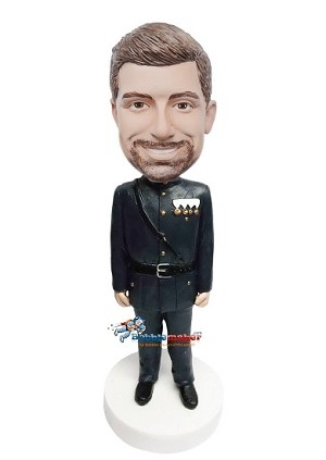 Custom Bobble Head | Decorated Military Man Bobblehead | Gift For Men