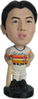 Baseball Player With Bat bobblehead Doll