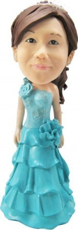 Maid Of Honor bobblehead Doll