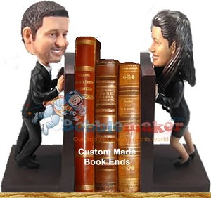 Custom Bobble Head | Bookend Couple Bobblehead | Gift Ideas For Couples
