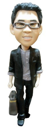 Custom Bobble Head | Businessman With Briefcase | Gift Ideas For Women