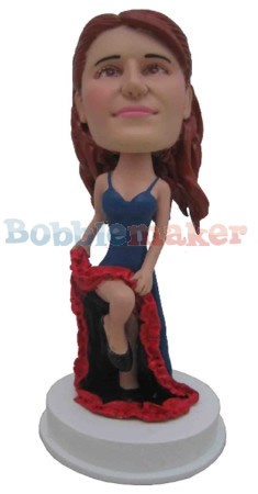 The Spanish Dancer Bobblehead Doll