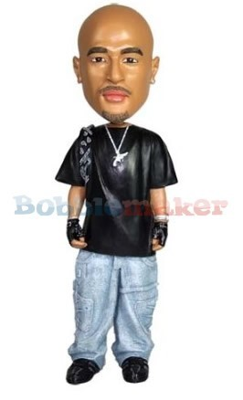 The Gangsta Man bobblehead Doll