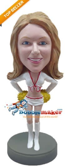 Custom Bobble Head | Sexy Cheerleader Bobblehead | Gift Ideas For Women