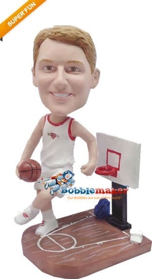 Super Tall Basketball Player bobblehead Doll