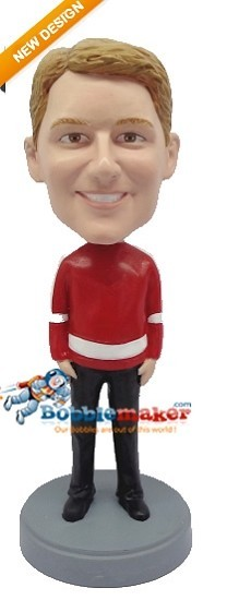 Sports Jersey Man bobblehead Doll