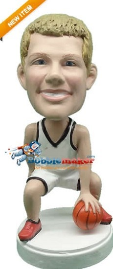The Tricky Dribble Basketball Player bobblehead Doll