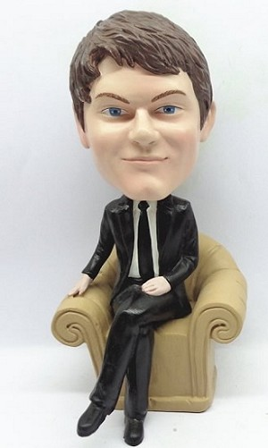 Executive In Chair bobblehead Doll