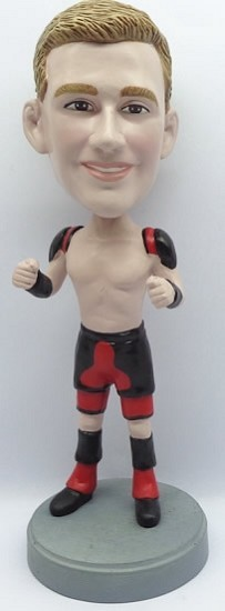 Custom Bobble Head | Man In Pro Wrestler Custom Bobblehead | Gift Ideas For Men