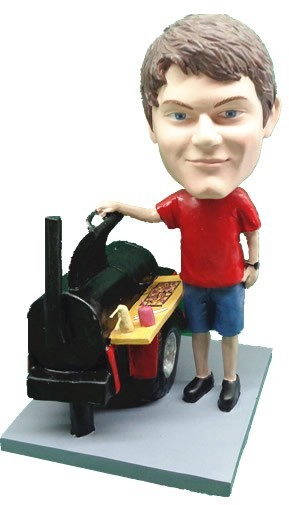 Custom Bobble Head | BBQ Man Bobblehead 3 | Gift For Men