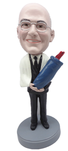 Custom Bobble Head | Bar Mitzvah / Rabbi Man Bobblehead 3 | Gift For Men