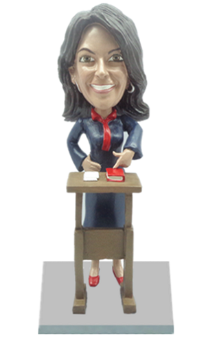 Custom Bobble Head | Female Lawyer Bobblehead | Gift Ideas For Women