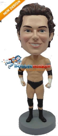 Custom Bobble Head | Simple Male Pro Wrestler Bobblehead | Gift Ideas For Men