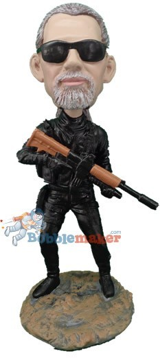 Custom Bobble Head | Black Ops / Swat Bobblehead | Gift For Men