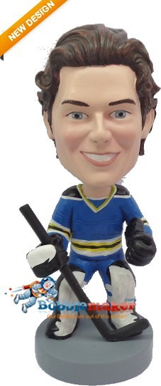Hockey Goalie bobblehead Doll