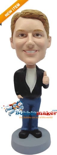 The Fonz bobblehead Doll
