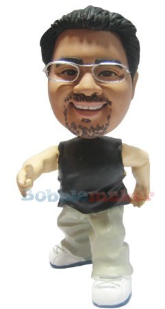 The Battle Rapper bobblehead Doll