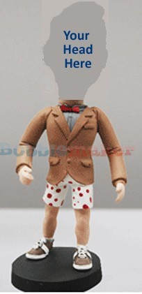 Man In Boxer Shorts bobblehead Doll