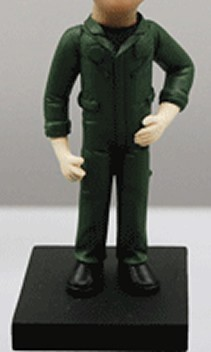 Air Force Pilot bobblehead Doll