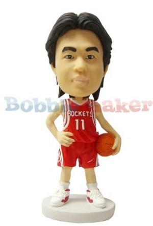 Arms At Sides Basketball Player bobblehead Doll