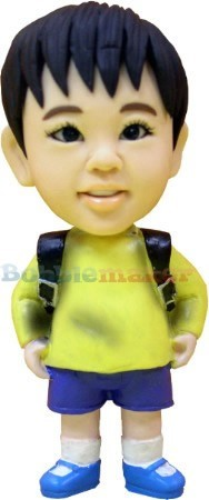School Boy Back Pack bobblehead Doll