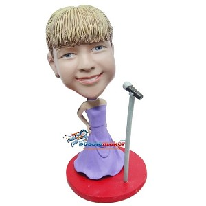 Custom Bobble Head | Diva Singer Bobblehead | Gift Ideas For Women