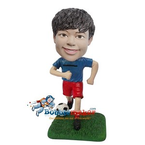 Custom Bobble Head | Boy Playing Soccer Bobblehead | Gift Ideas For Men