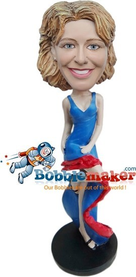 Spanish Dancer Female bobblehead Doll