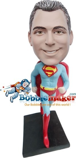 Custom Bobblehead | Superman Running Bobblehead