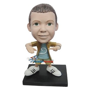 Custom Bobble Head | Hip Hop Boy Bobblehead | Gifts for Kids