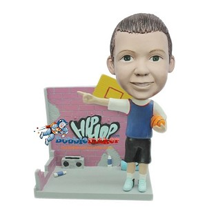 Hip Hop Basketball Boy bobblehead Doll
