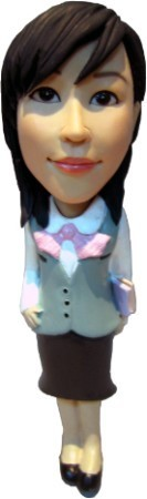 Custom Bobble Head | Office Female Bobblehead | Gift Ideas For Women