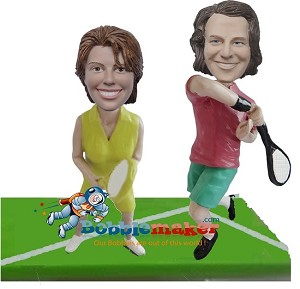 Custom Bobble Head | Tennis Couple Bobblehead | Gift Ideas For Couples