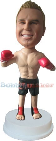 The O'Champ Boxing bobblehead Doll
