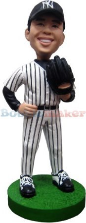 Custom Bobble Head | Righty Pitcher Baseball Bobblehead | Gift Ideas For Men