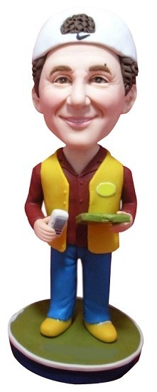 Foreman Male bobblehead Doll