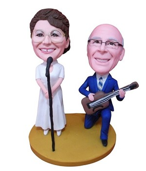 Custom Bobble Head | Couple Band Bobblehead | Gifts For Couples